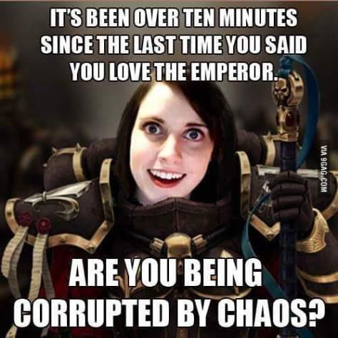 Heresy Chaos emperor