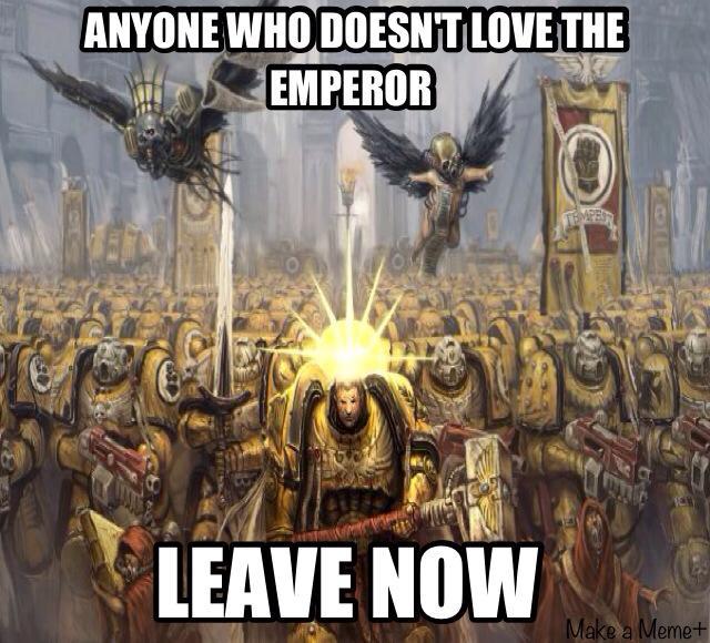 Heresy Emperor love