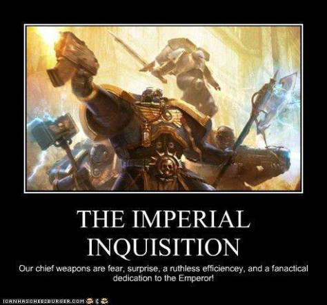 imperial inquisition